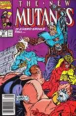 New Mutants (1983-1991) #89 Variant A: Newsstand Edition