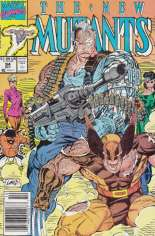New Mutants (1983-1991) #94 Variant A: Newsstand Edition