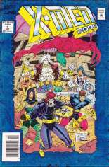 X-Men 2099 (1993-1996) #1 Variant A: Newsstand Edition; Blue Foil Cover