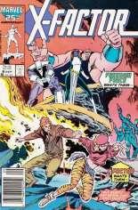 X-Factor (1986-1998) #8 Variant A: Newsstand Edition