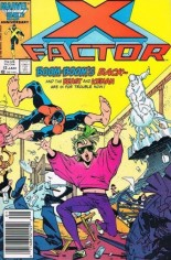 X-Factor (1986-1998) #12 Variant A: Newsstand Edition