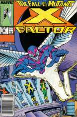 X-Factor (1986-1998) #24 Variant A: Newsstand Edition