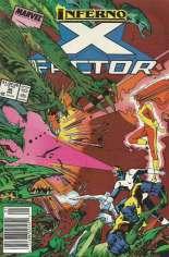 X-Factor (1986-1998) #36 Variant A: Newsstand Edition