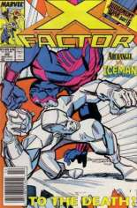 X-Factor (1986-1998) #49 Variant A: Newsstand Edition