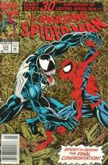Amazing Spider-Man (1963-1998) #375 Variant A: Newsstand Edition; Gold Foil Cover