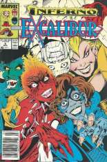 Excalibur (1988-1998) #6 Variant A: Newsstand Edition