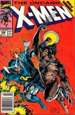 Uncanny X-Men (1963-2011) #258 Variant A: Newsstand Edition