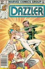Dazzler (1981-1986) #22 Variant A: Newsstand Edition