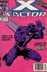 X-Factor (1986-1998) #47 Variant A: Newsstand Edition