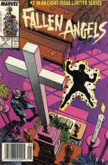 Fallen Angels (1987) #2 Variant A: Newsstand Edition