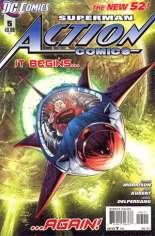 Action Comics (2011-2016) #5 Variant A
