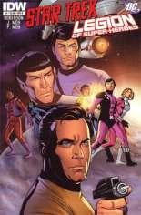 Star Trek/Legion of Super-Heroes #4 Variant B