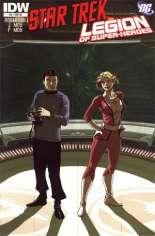 Star Trek/Legion of Super-Heroes #4 Variant C: Incentive Cover