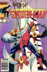 Web of Spider-Man (1985-1995) #2 Variant A: Newsstand Edition