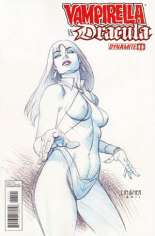 Vampirella vs. Dracula #1 Variant B: Sketch Cover