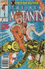 New Mutants (1983-1991) #95 Variant A: Newsstand Edition