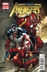 Avengers (2010-2012) #21 Variant B: Venom Cover