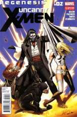 Uncanny X-Men (2011-2012) #2 Variant C: 2nd Printing