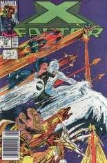 X-Factor (1986-1998) #63 Variant A: Newsstand Edition