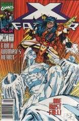 X-Factor (1986-1998) #64 Variant A: Newsstand Edition