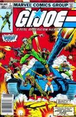 G.I. Joe (1982-1994) #1 Variant A: Newsstand Edition