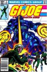 G.I. Joe (1982-1994) #3 Variant A: Newsstand Edition