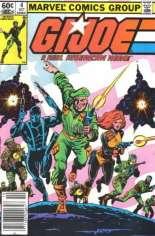 G.I. Joe (1982-1994) #4 Variant A: Newsstand Edition