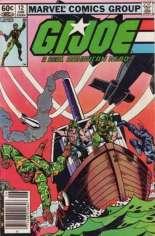 G.I. Joe (1982-1994) #12 Variant A: Newsstand Edition