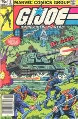 G.I. Joe (1982-1994) #5 Variant C: Newsstand Edition; 75 Cent Variant
