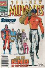 New Mutants (1983-1991) #99 Variant A: Newsstand Edition