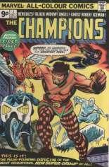 Champions (1975-1978) #1 Variant B: UK Edition