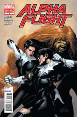 Alpha Flight (2011-2012) #8 Variant B: 1:15 Variant