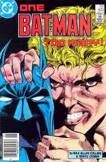 Batman (1940-2011) #403 Variant A: Newsstand Edition