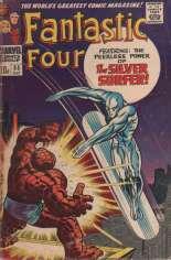 Fantastic Four (1961-1996) #55 Variant B: UK Edition