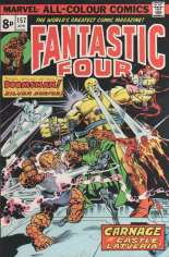 Fantastic Four (1961-1996) #157 Variant B: UK Edition