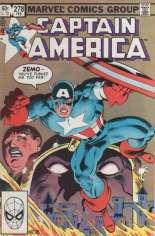 Captain America (1968-1996) #278 Variant B: Direct Edition