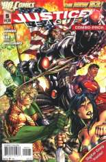 Justice League (2011-2016) #5 Variant B: Combo Pack