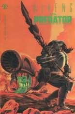 Aliens vs. Predator (1990) #1 Variant B: 2nd Printing