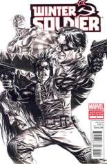 Winter Soldier (2012-2013) #1 Variant D: Sketch Cover