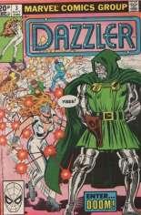 Dazzler (1981-1986) #3 Variant C: UK Edition