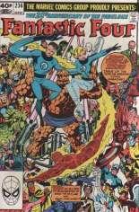 Fantastic Four (1961-1996) #236 Variant C: UK Edition