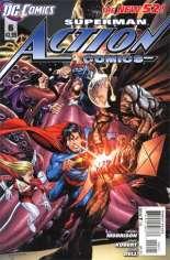 Action Comics (2011-2016) #6 Variant B: 1:5 Variant