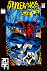 Spider-Man 2099 (1992-1996) #1 Variant C: Red Foil Cover; Signed by Joey Cavalieri; Limited to 2099 Copies