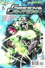 Green Lantern (2011-2018) #6 Variant B: 1:5 Variant