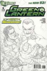 Green Lantern (2011-2018) #6 Variant C: Sketch Cover