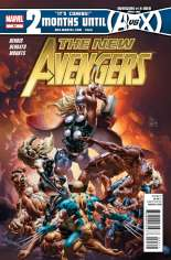 New Avengers (2010-2013) #21 Variant A