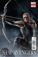 New Avengers (2010-2013) #21 Variant B: Movie Cover