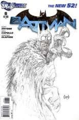 Batman (2011-2016) #6 Variant D: Sketch Cover