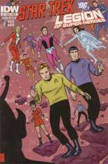 Star Trek/Legion of Super-Heroes #5 Variant B
