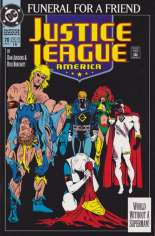 Justice League America (1989-1996) #70 Variant F: 4th Printing